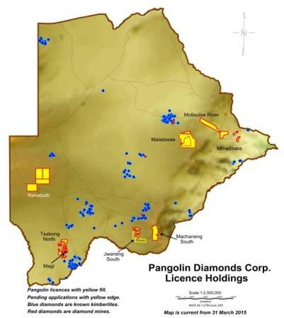 Botswana PDC Map 2015